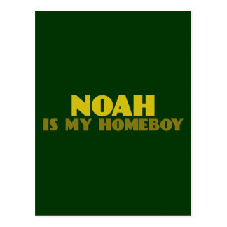 Noah is my Homeboy Postcard