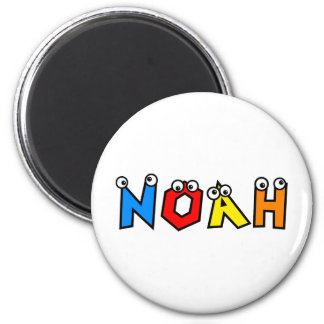 Noah Refrigerator Magnet