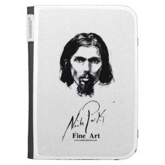 Noah Park Self Portrait Kindle Case