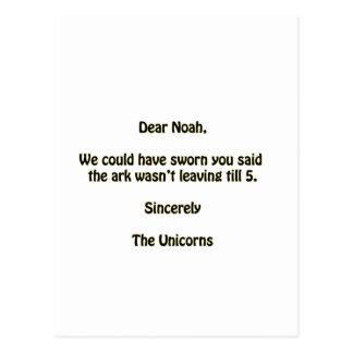 Noah Postcard