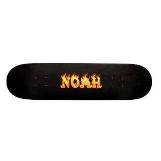 noah real fire skateboard