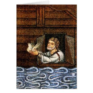 Noah Releases The Dove Mosaic - Circa 1200 Card