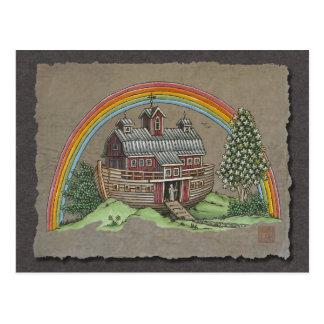 Noah's Ark Barn Postcard