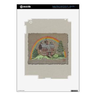 Noah's Ark Barn iPad 3 Decal
