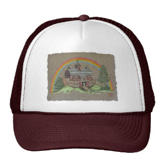 Noah's Ark Barn Trucker Hat