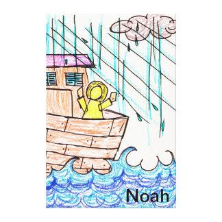 Noah s Ark Gallery Wrap Canvas