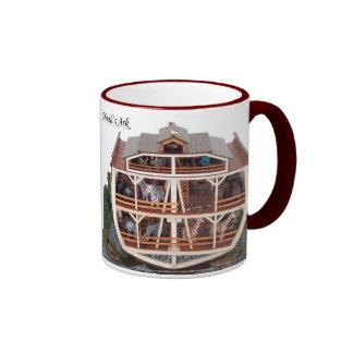 Noah`s Ark Cross Section Model Mug