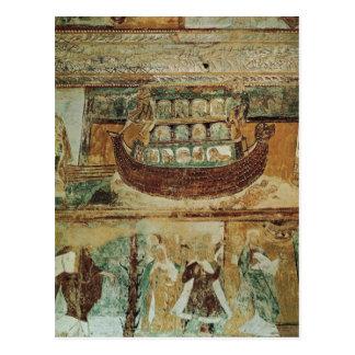 Noah s Ark During the Flood c 1100 Postcards