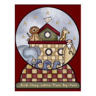 Noah s Ark Post Card