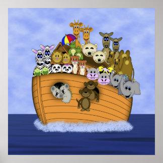 Noah s Ark Print