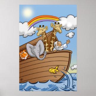 Noah s Ark Poster by Salinas Slugger Studios