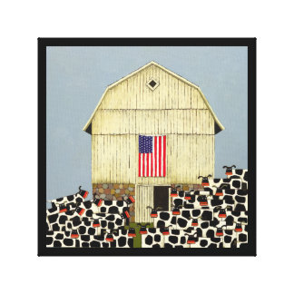 Noah Snyder's 25 All American Cows Canvas Print