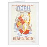 Noah & The Ark 1938 WPA Card