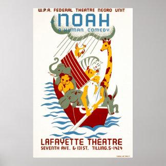 Noah: Una comedia humana Posters