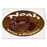 Noah Was A Prepper Cards