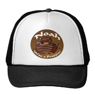 Noah Was A Prepper Trucker Hat