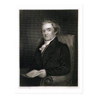 Noah Webster (1758-1843) engraved by Frederick W. Postcard