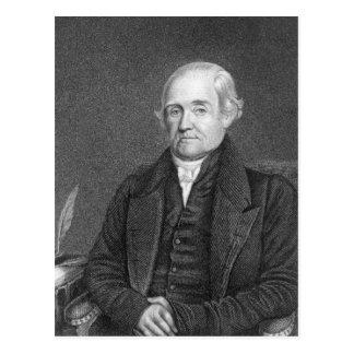 Noah Webster  engraved by G. Parker Postcard