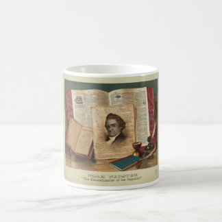 Noah Webster The Schoolmaster of the Republic Coffee Mugs