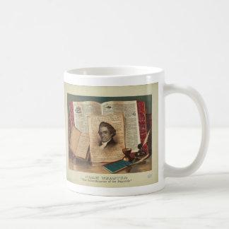 Noah Webster The Schoolmaster of the Republic Coffee Mug