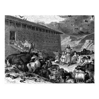 Noah y la arca postales