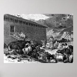 Noah y la arca póster