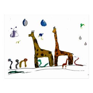 Noah's Animals Postcards