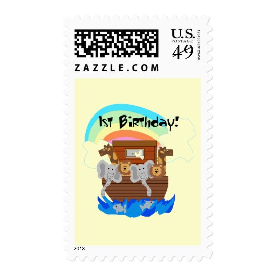 Noah's Ark 1st Birthday Tshirts and Gifts Postage