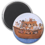 Noah's Ark 2 Inch Round Magnet