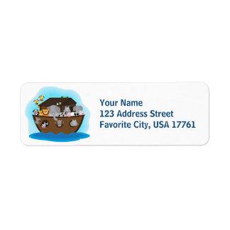 Noah's Ark Address Labels