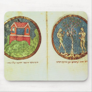 Noah's Ark and Adam and Eve Mouse Pad