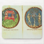 Noah's Ark and Adam and Eve Mousepad