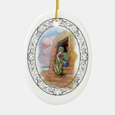 Noah's Ark At Sea Ceramic Ornament at Zazzle