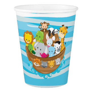 Noah's Ark | Baby Animals Theme Paper Cup