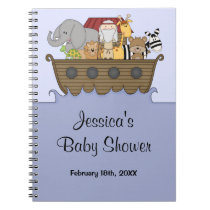 Noah's Ark Baby Shower Guest Book