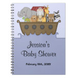 Noah's Ark Baby Shower Guest Book Note Books