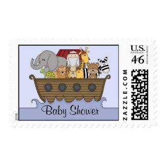 Noah's Ark Baby Shower Postage Stamps