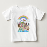 Noahs Ark Baby T-Shirt