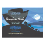Noah's Ark Bar Bat Mitzvah Invitation Invite