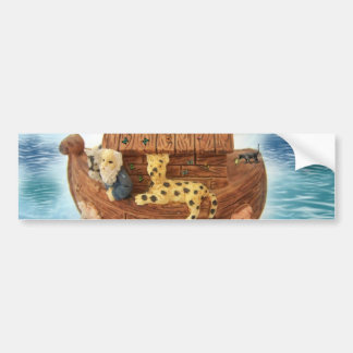Noah's Ark Bumper Sticker