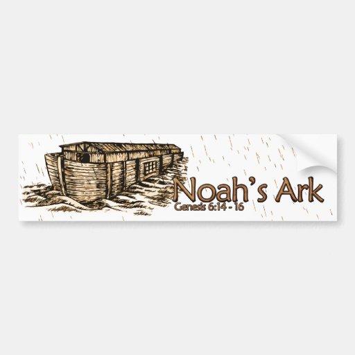 Noah's Ark Bumper Stickers