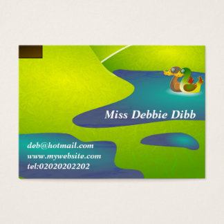Noahs Ark Business Card