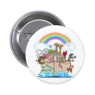Noahs Ark 2 Inch Round Button