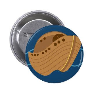Noahs Ark Pinback Button