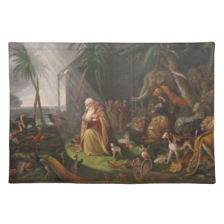 Noah's Ark by Charles Wilson Peale - Circa 1819 Place Mat