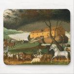 Noah's Ark by Edward Hicks - 1846 Mouse Pad