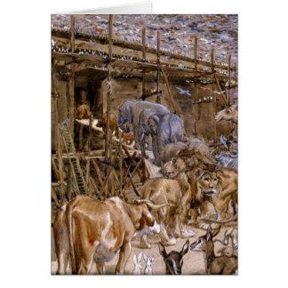 Noah's Ark by James Tissot - Circa 1900 Card