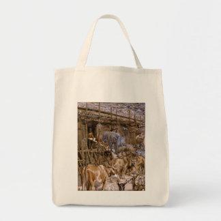 Noah's Ark by James Tissot - Circa 1900 Tote Bag