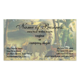 Noah's Ark by Joseph Henry Hidley Double-Sided Standard Business Cards (Pack Of 100)