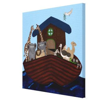 Noah's Ark Canvas Print